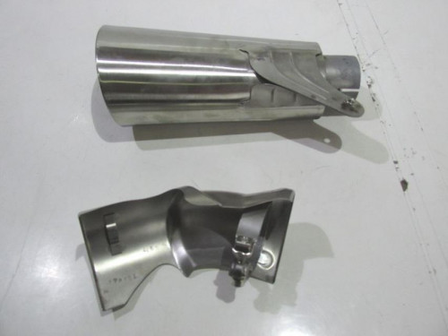 Kit visserie carenage en aluminium GSXR1300 HAYABUSA 99-07 Noir